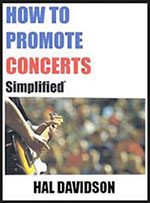 How to Promote Concerts Simplified book cover