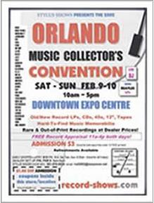 Orlando Music Collector's Convention Poster